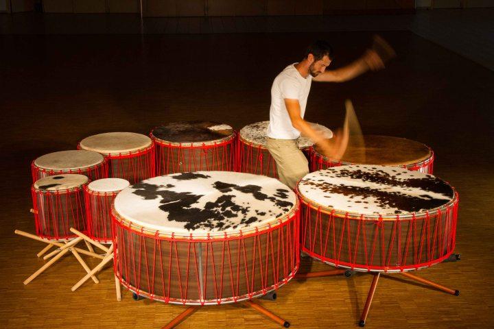 percussion les Tambourguignons Adrien HERMANN