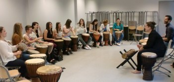 cours percussion krin