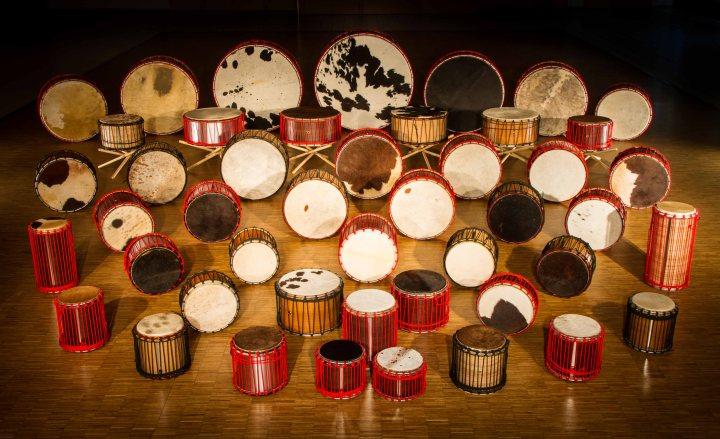 Percussion tambours les Tambourguignons Adrien HERMANN