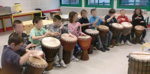 cours percussion Adrien HERMANN